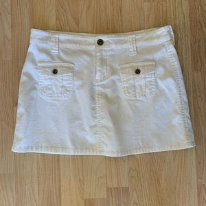 !it Jeans woman's white skirt